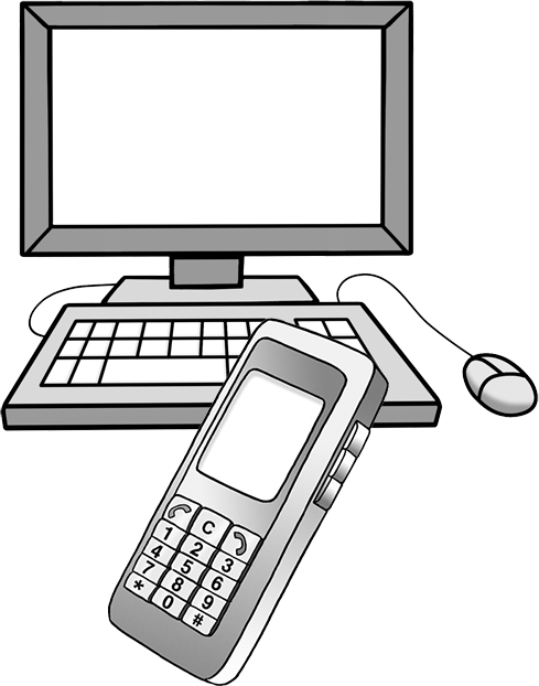 PC und Handy