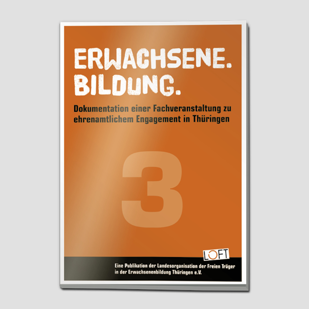 """Publikation 3 """"Erwachsene. Bildung."""""""